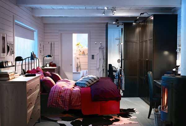 Modele Chambre Ikea : IKEA Bedroom Ideas for Small Rooms