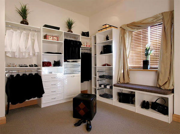 amnager un dressing dans une chambre un dressing qui. Black Bedroom Furniture Sets. Home Design Ideas